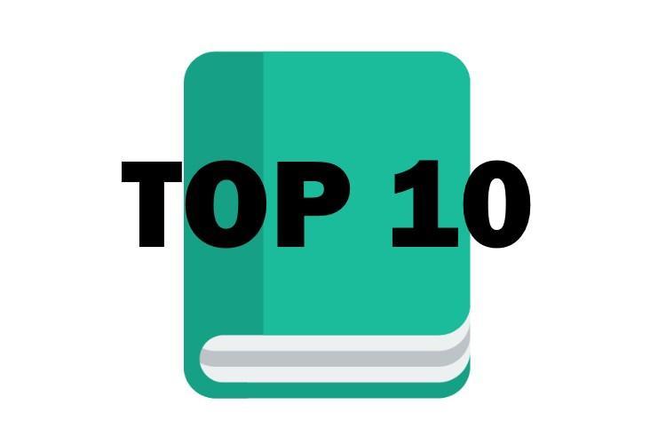 Top 10 > Meilleur roman fantastique en 2021